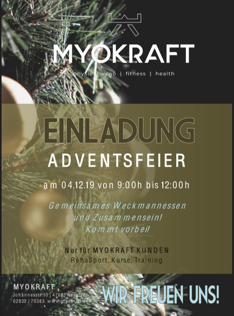 Einladung Adventsfeier 2018