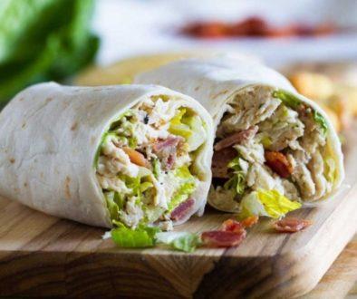 Ceasar Salat Wrap