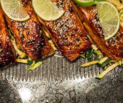 BBQ Fisch und Marinade