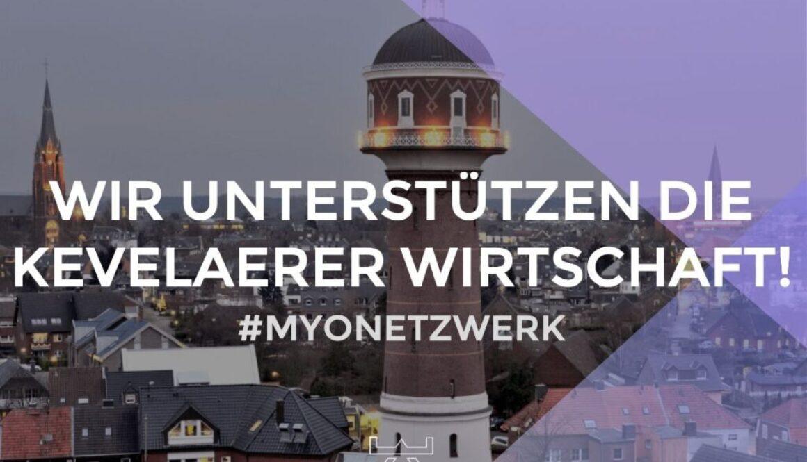 Myonetzwerk - Unterstützung der Kevelaerer Wirtschaft